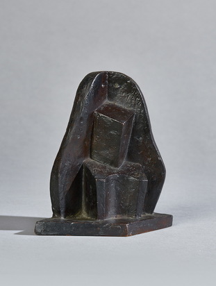 Seated Woman in Armchair