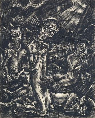 Epper Ignaz, Vier männliche Figuren