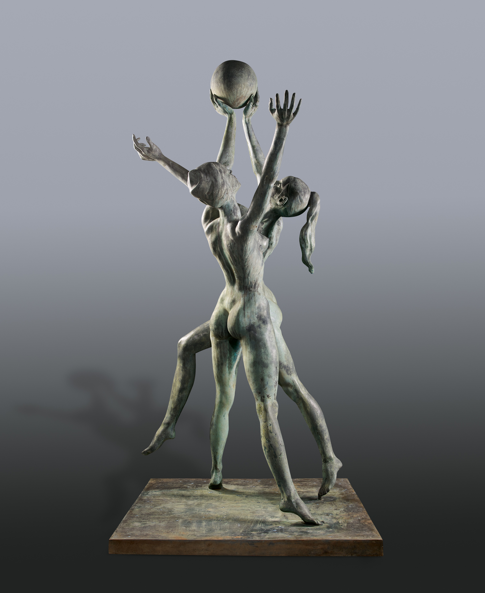 Limbach Hans Jörg, Ballspielerinnen (Nudes Playing Ball)