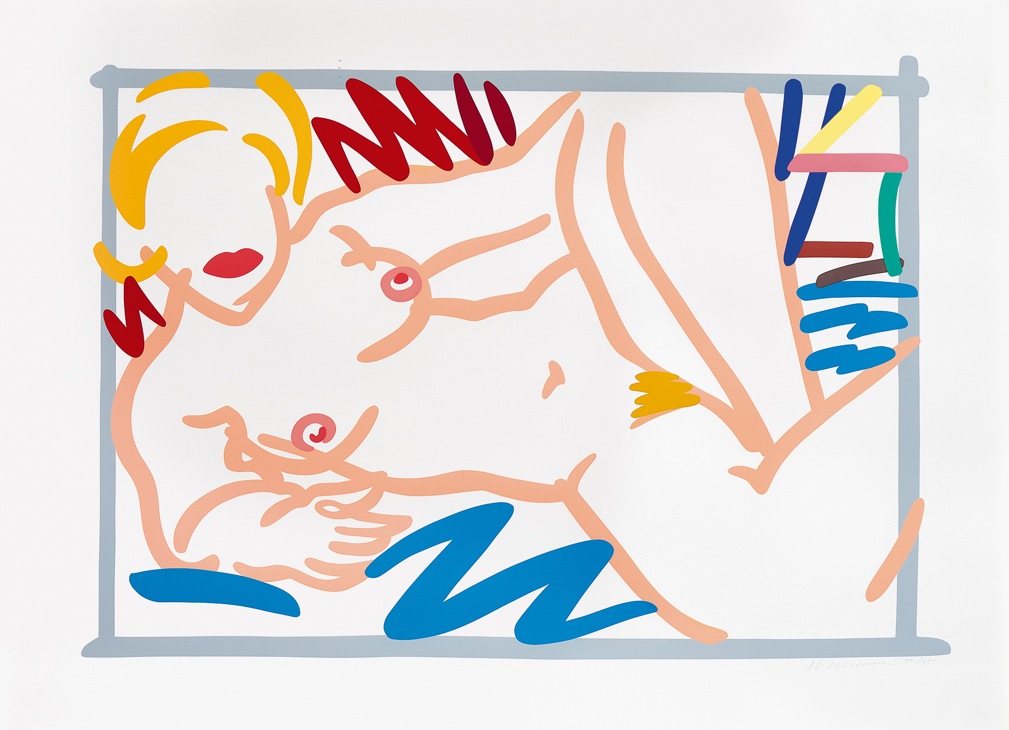 Wesselmann Tom, Judy on a Blue Blanket