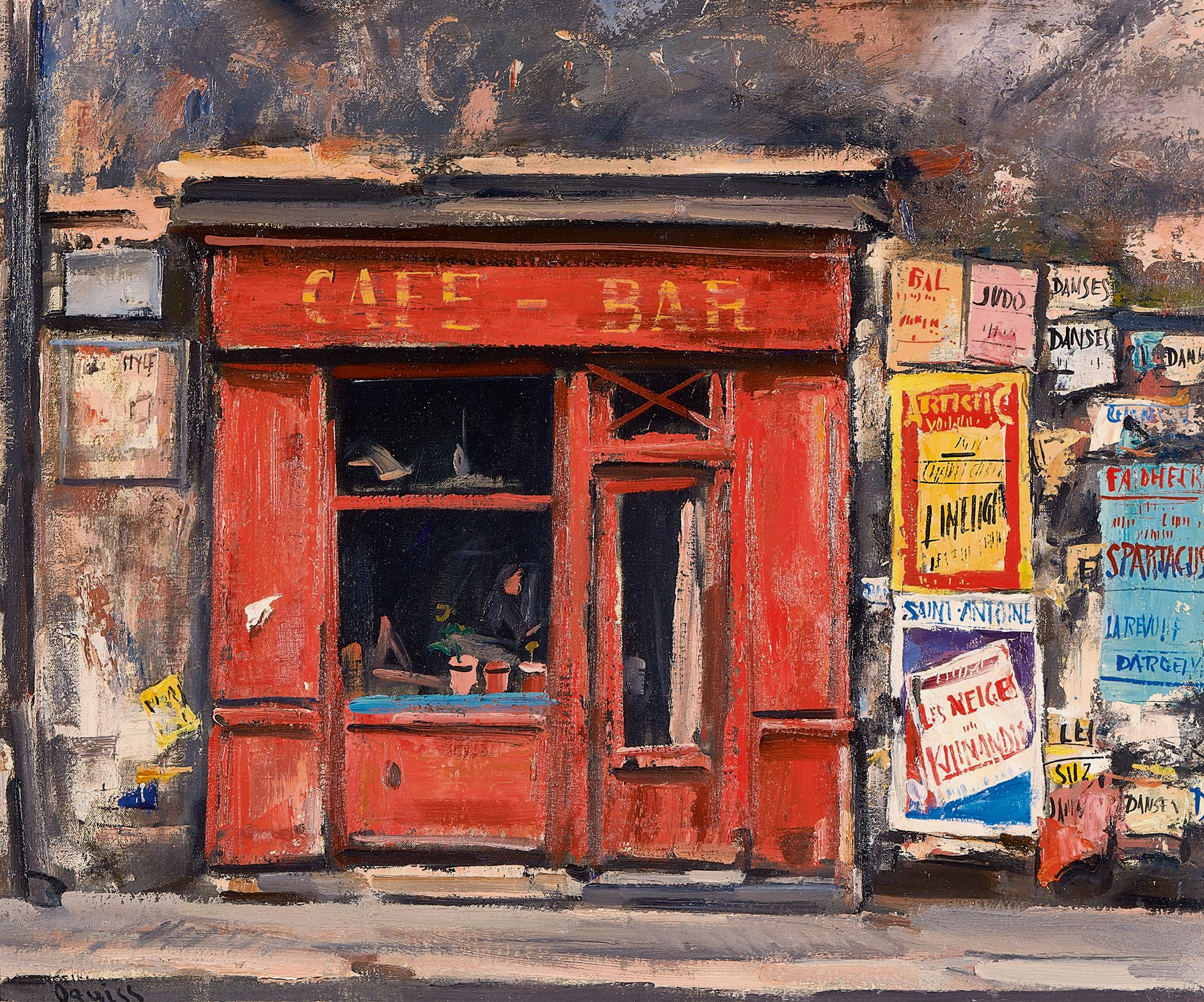 Oguiss Takanori, Café-Bar Rue de Charonne à Paris