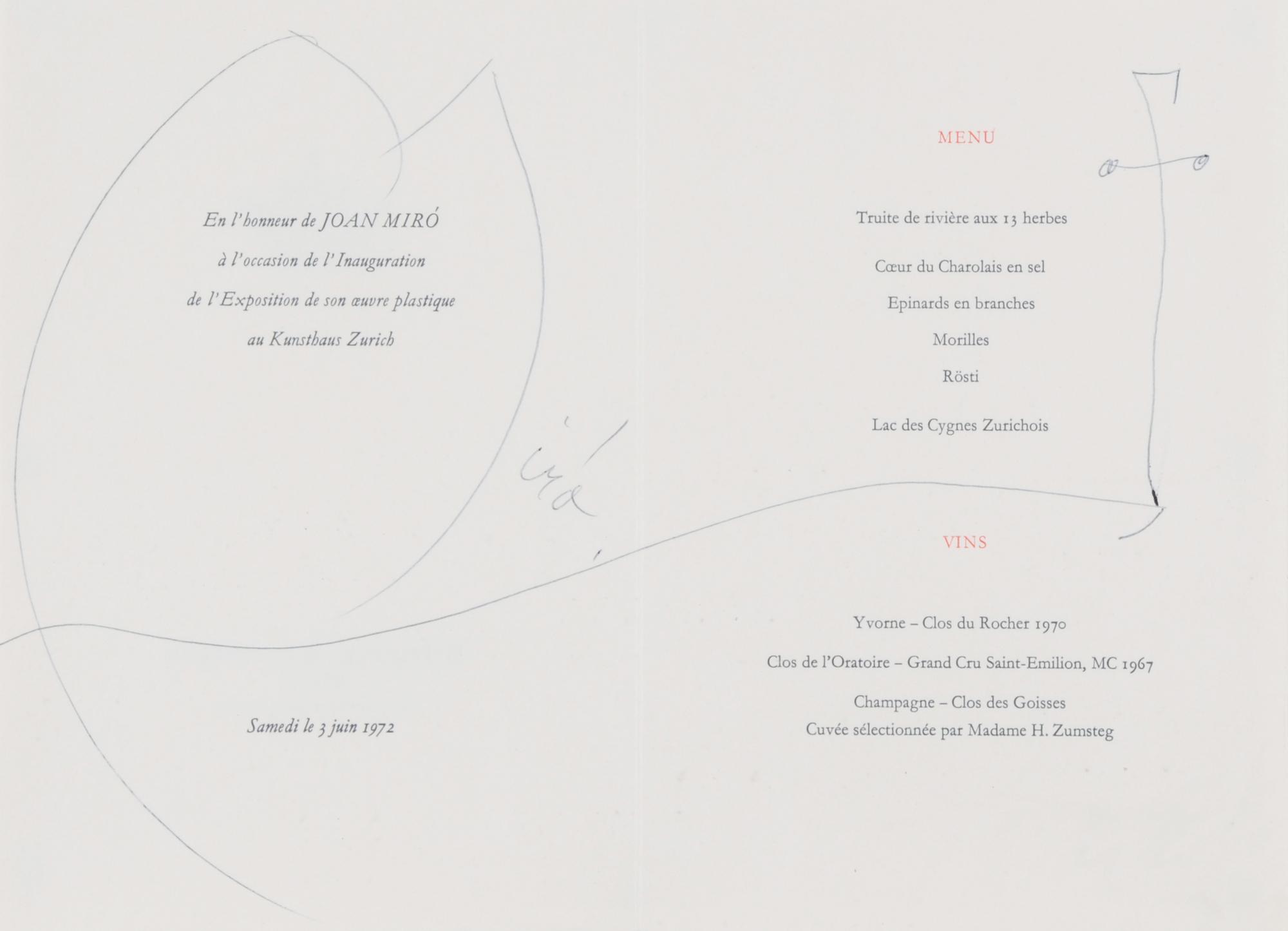 Miró Joan, Sin título (Untitled)
