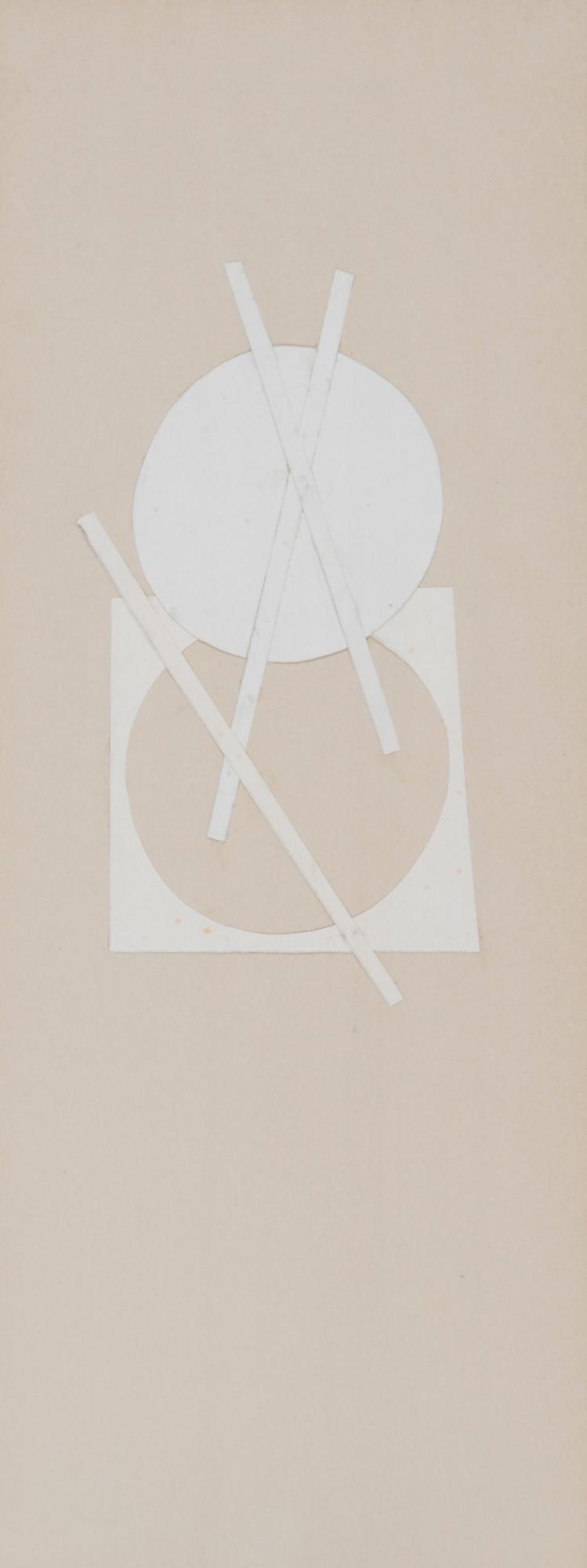 Leuppi Leo, 2 works: Untitled, 1964; Untitled