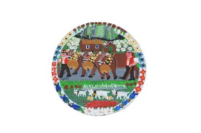 Wenk Niklaus, Alpabzug (Ceremonial Cattle Drive )