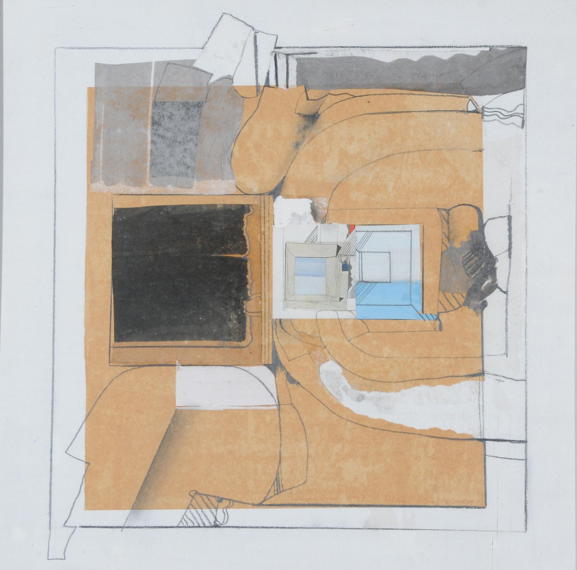 Duss Carlos, Blau-Fenster-Bild