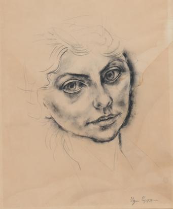 Epper Ignaz, Damenbildnis (Portrait of a Lady)