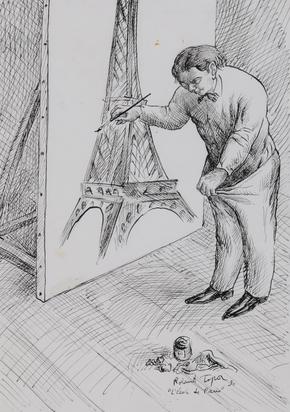 Topor Roland, L'école de Paris