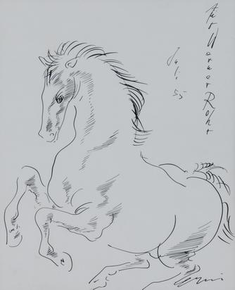Erni Hans, Pferd (Horse)