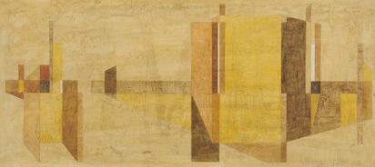 Gessner Robert Salomon, Murale Komposition (Mural Composition)