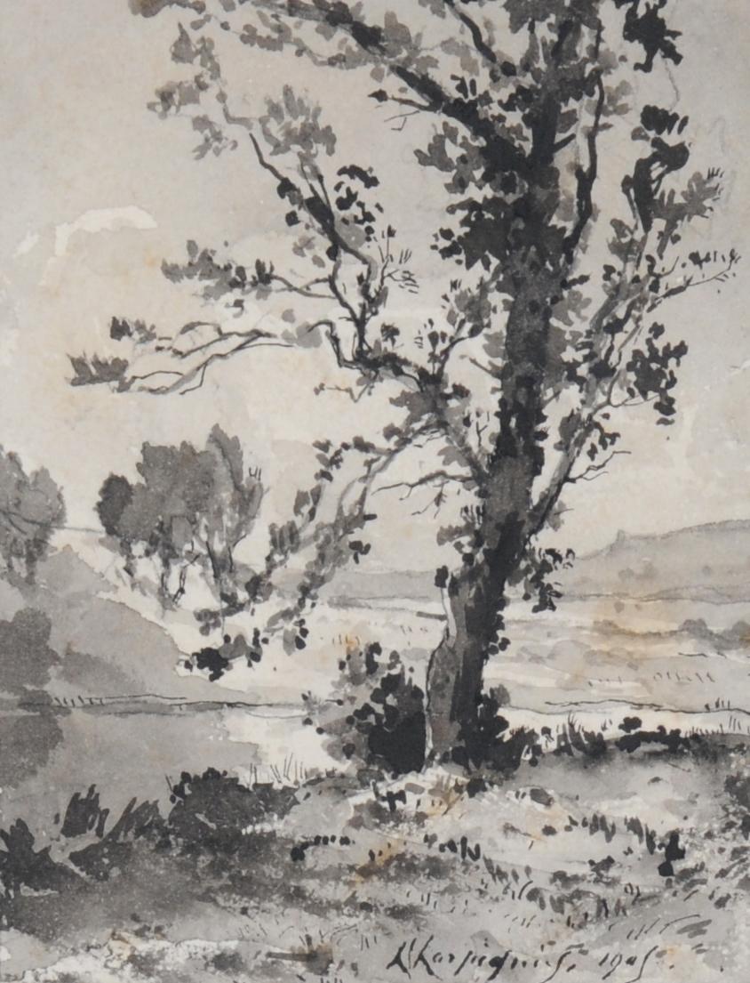 Harpignies Henri, River Landscape