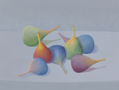 Hurni Rudolf, 3 paintings: Natura ontologica Feigen, 1981; Untitled, 1982, Untitled