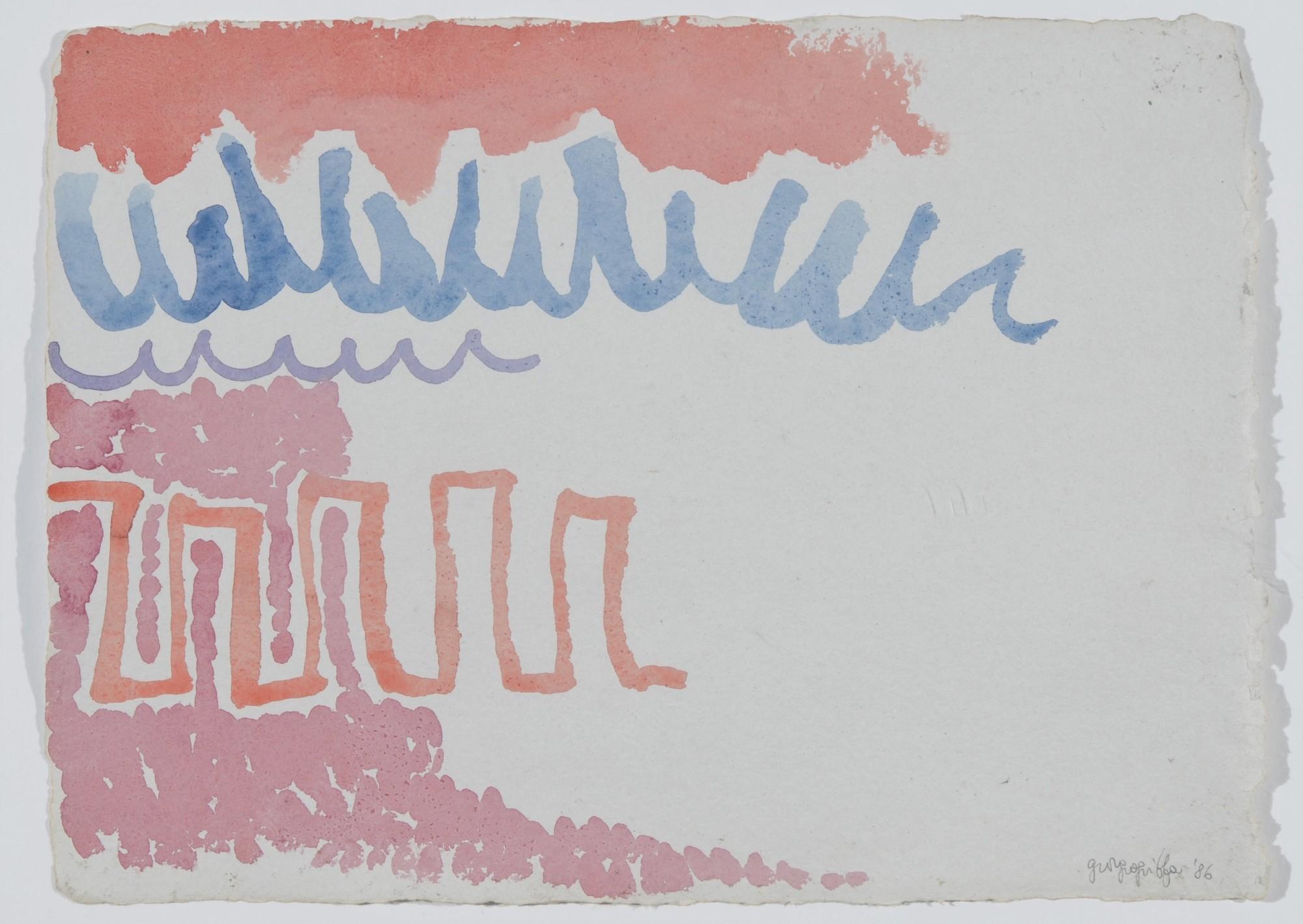 Griffa Giorgio, Senza titolo (Untitled)