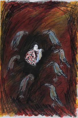 Wachweger Thomas, 3 drawings: Exoten unter sich, 1974; Untitled, 1977; Boys