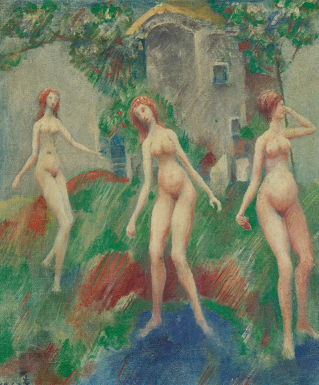 Fahrner Kurt, Drei Akte (Three Nudes)