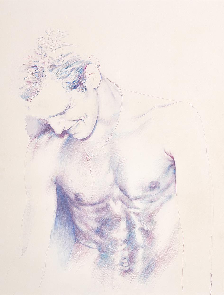 Pfeiffer Walter, Male Semi-Nude
