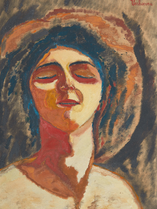 Verhoeven Jan, Damenbildnis (Portrait of a Lady)