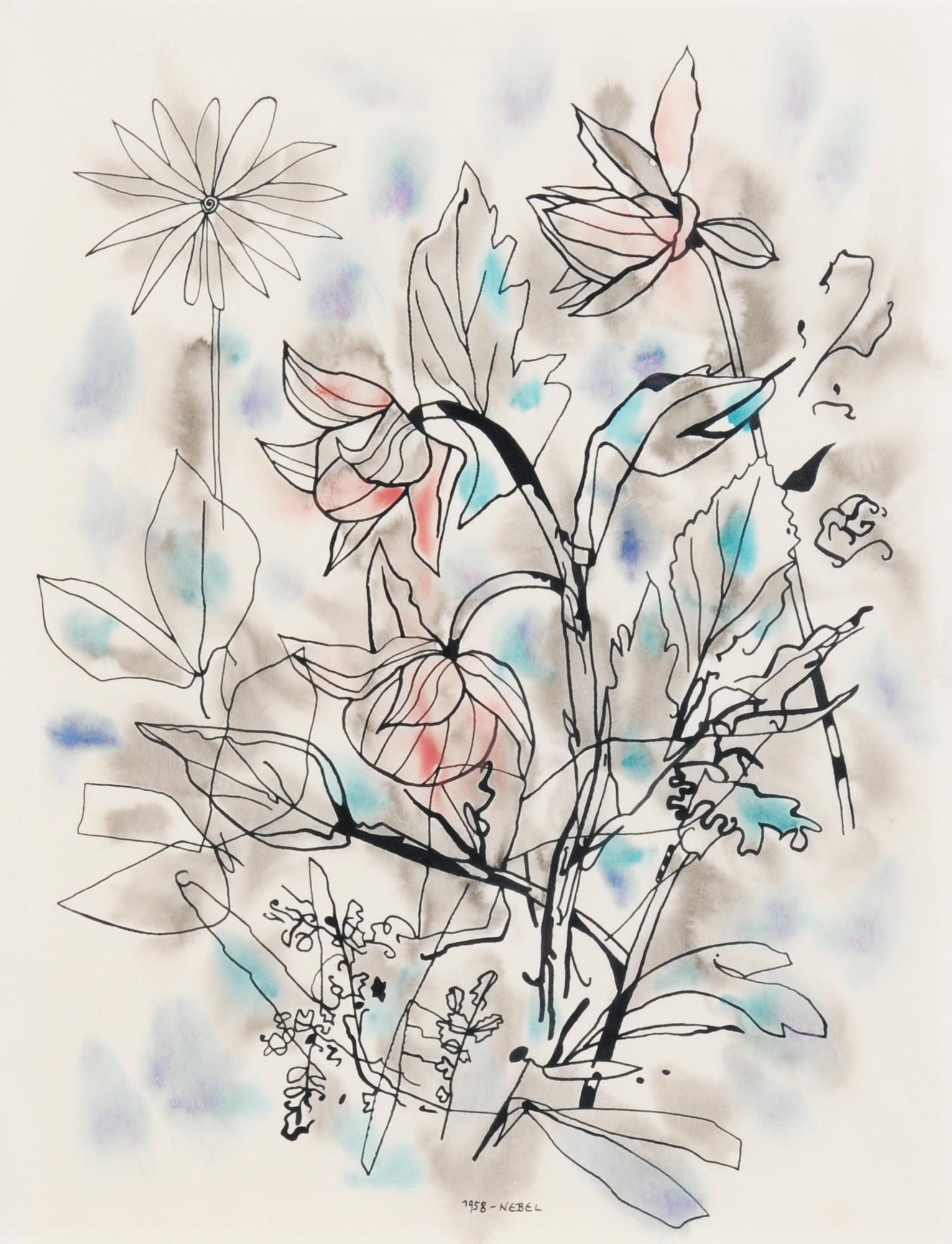 Nebel Otto, Blumen