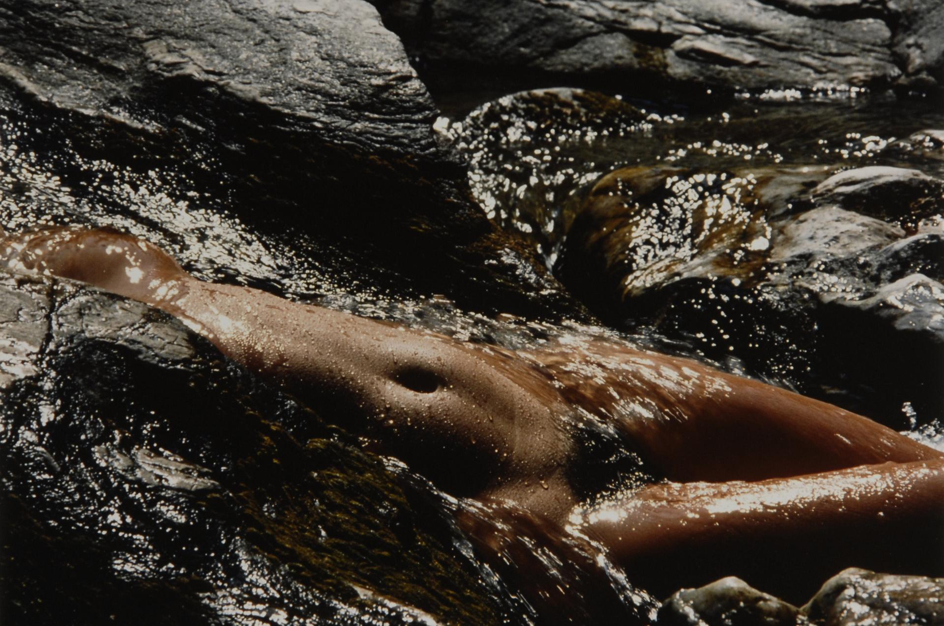 Clergue Lucien, Nu dans l'eau (Nude in the Water)