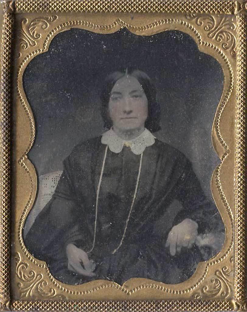 Daguerreotypie, Portrait of a Lady