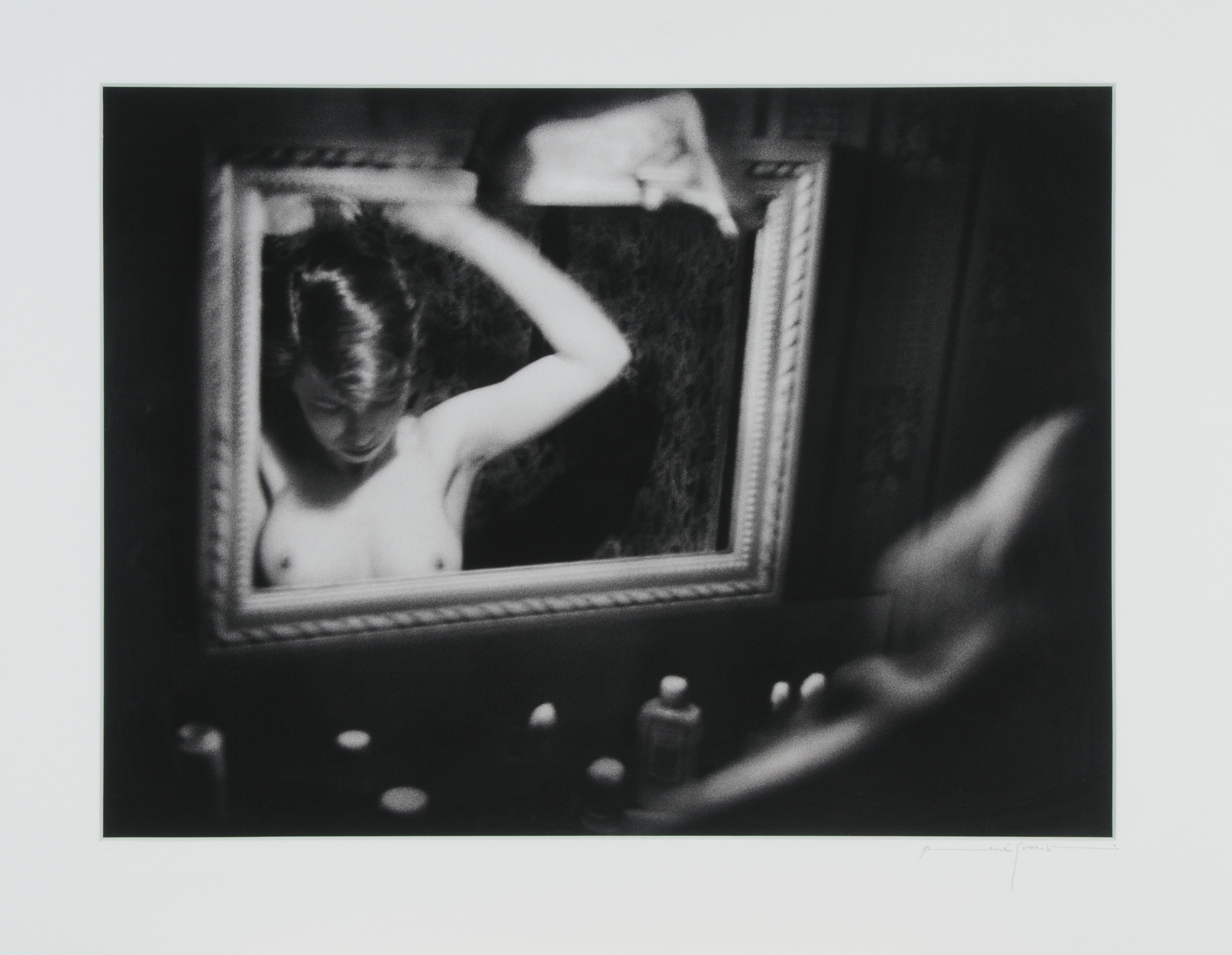 "Groebli René, Rita Reflected in the Mirror, from the series ""The Eye of Love"""