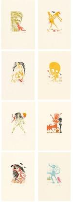 Dalí Salvador, Portfolio. Les huit péchés capitaux