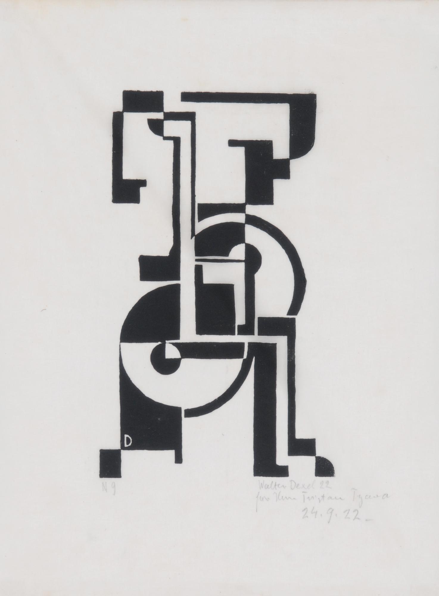 Dexel Walter, Figuration 1922 I