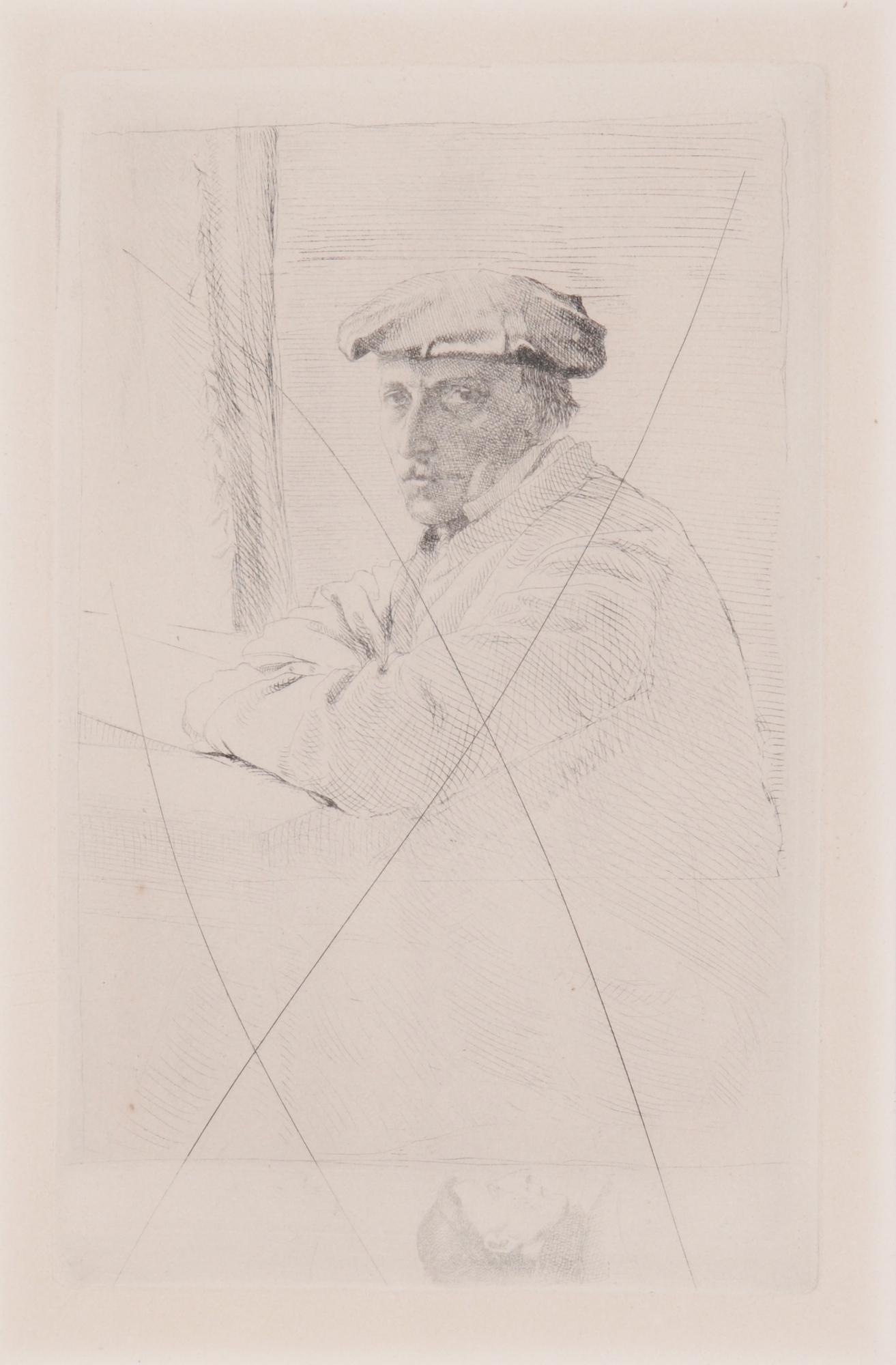 Degas Edgar, Le graveur Joseph Tourny