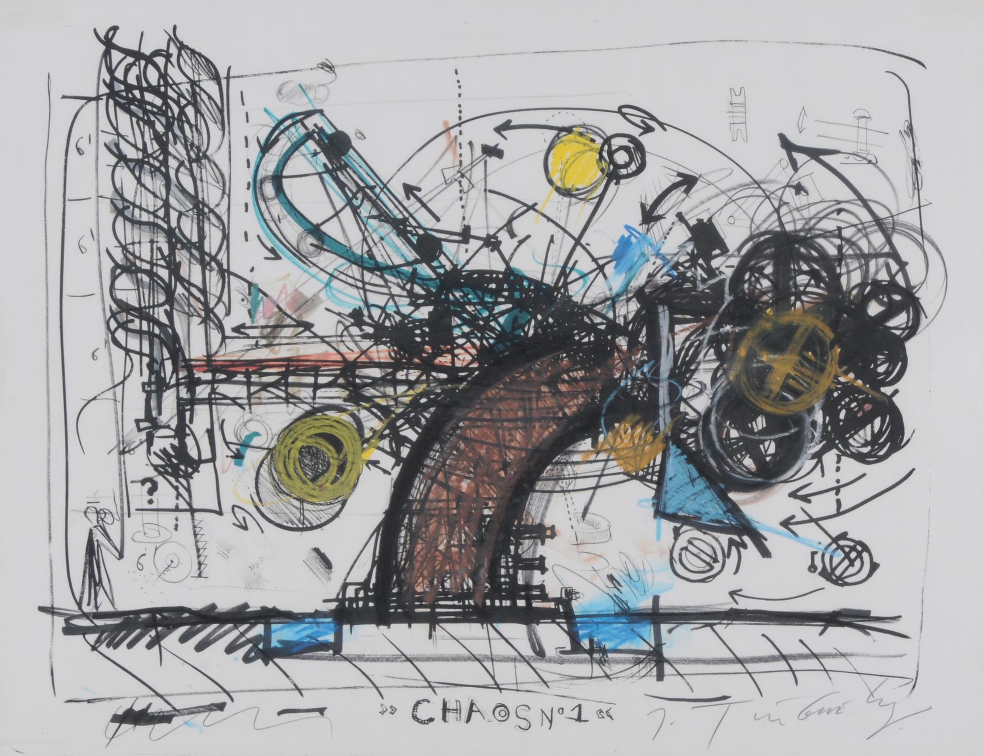 Tinguely Jean, Chaos 1