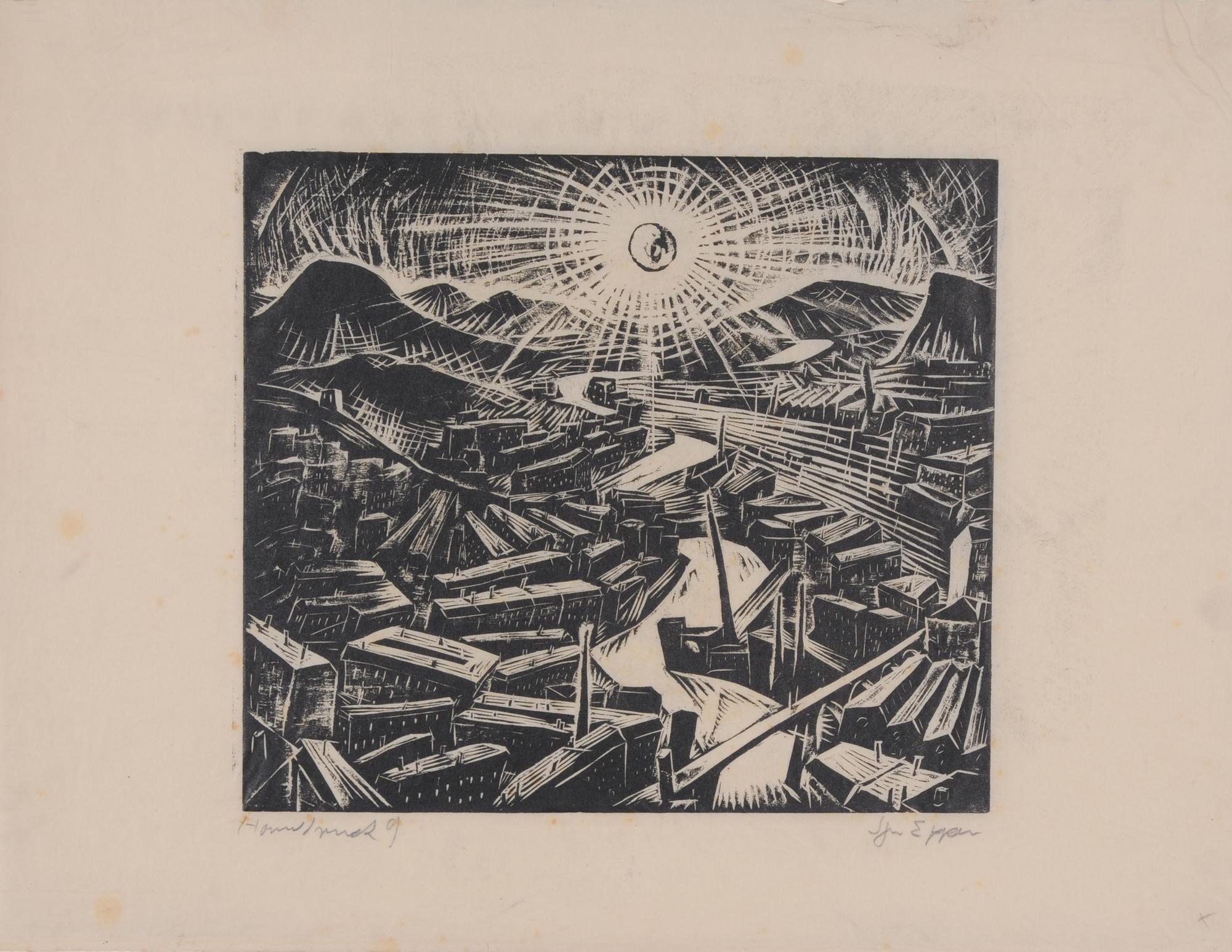Epper Ignaz, Sonne über der Stadt
