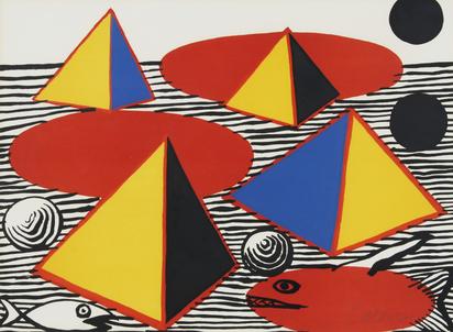 Calder Alexander, Pyramids and Fish