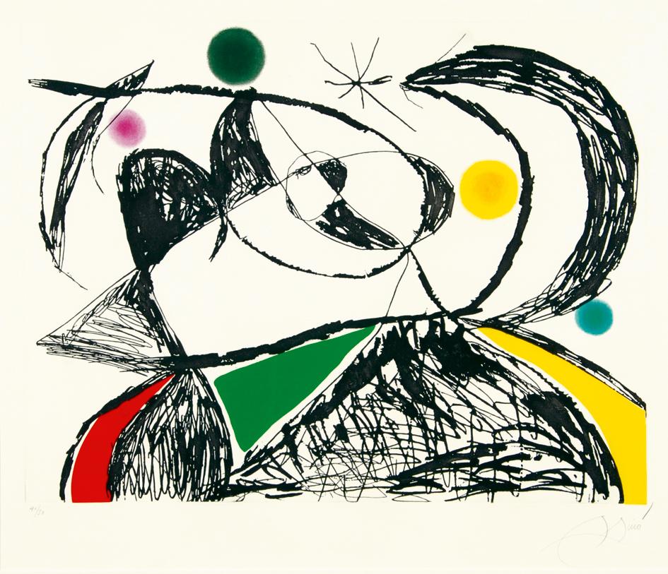 "Miró Joan, Sheet from ""Série Mallorca"""
