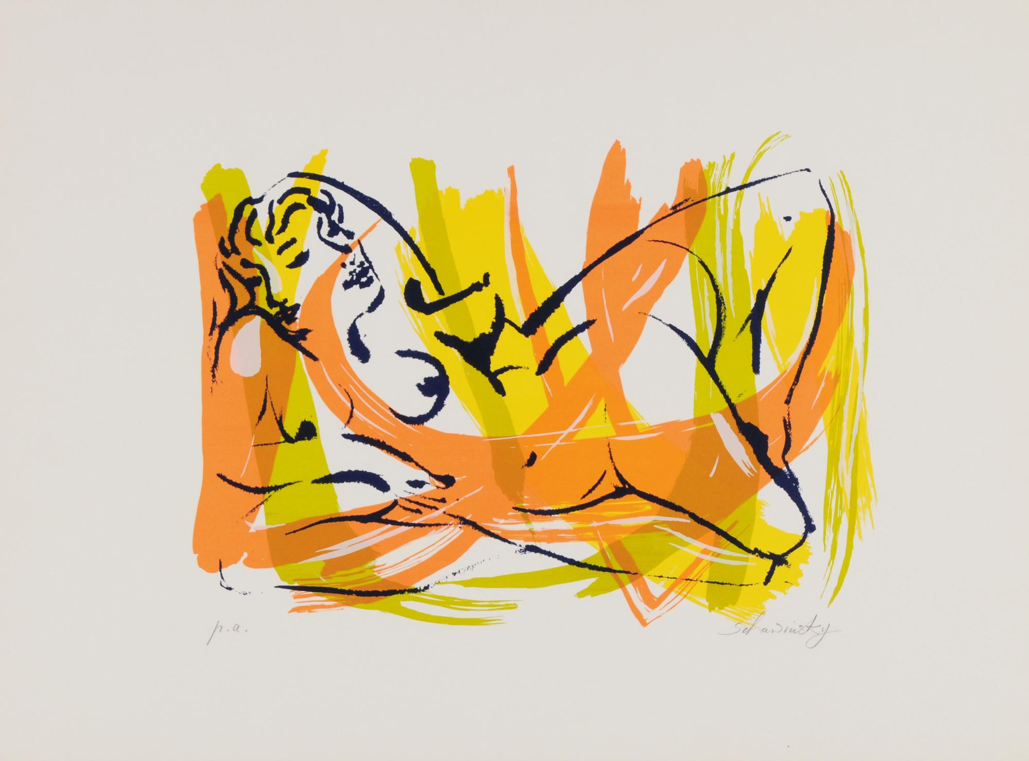 Schawinsky Xanti, 9 sheets: Untitled