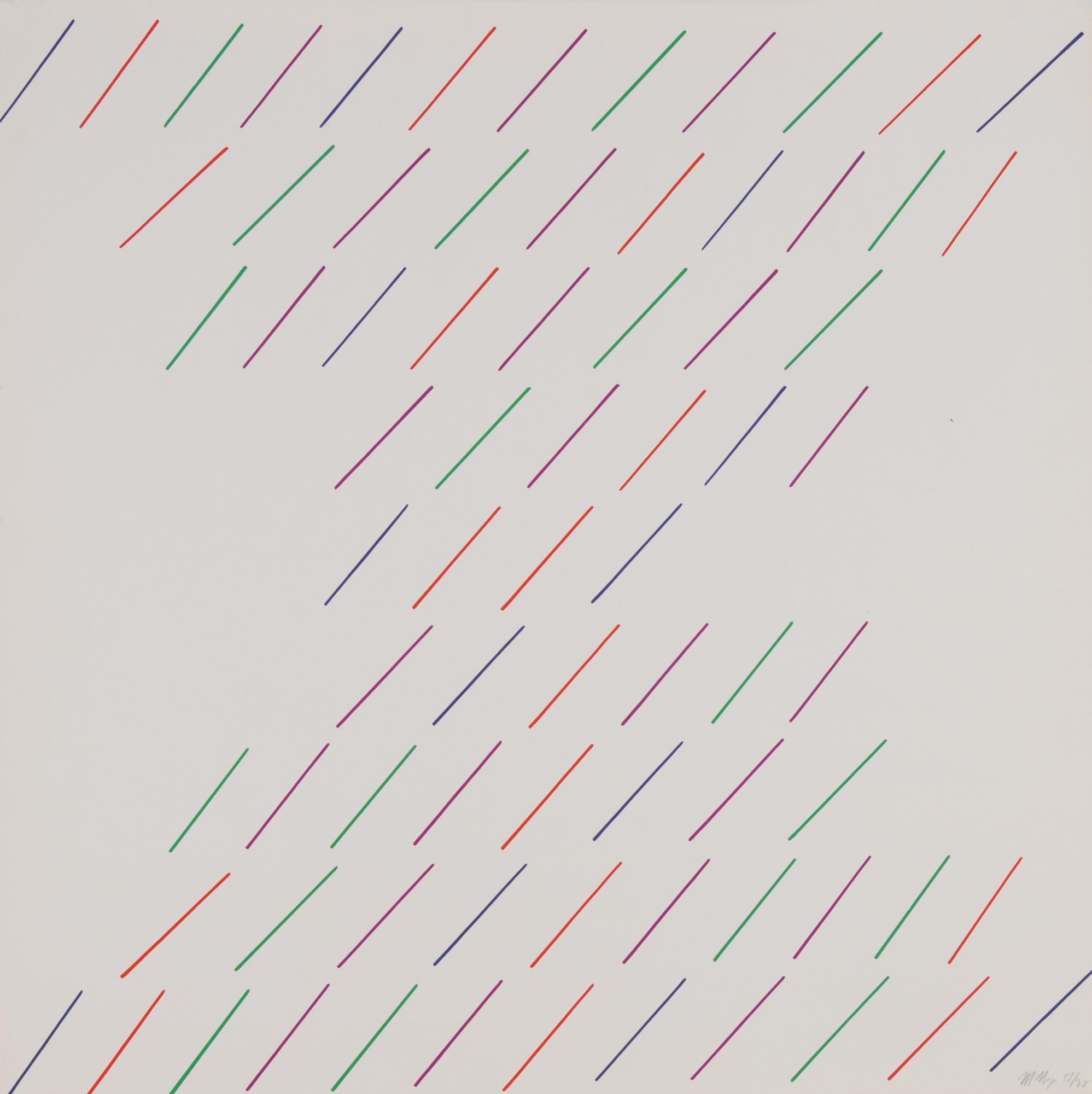 Nigro Mario, 8 sheets: Untitled