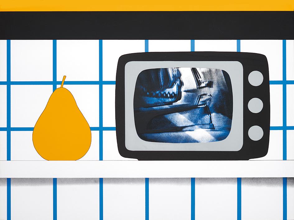 "Wesselmann Tom, TV Still Life, from ""11 Pop Artists III"""