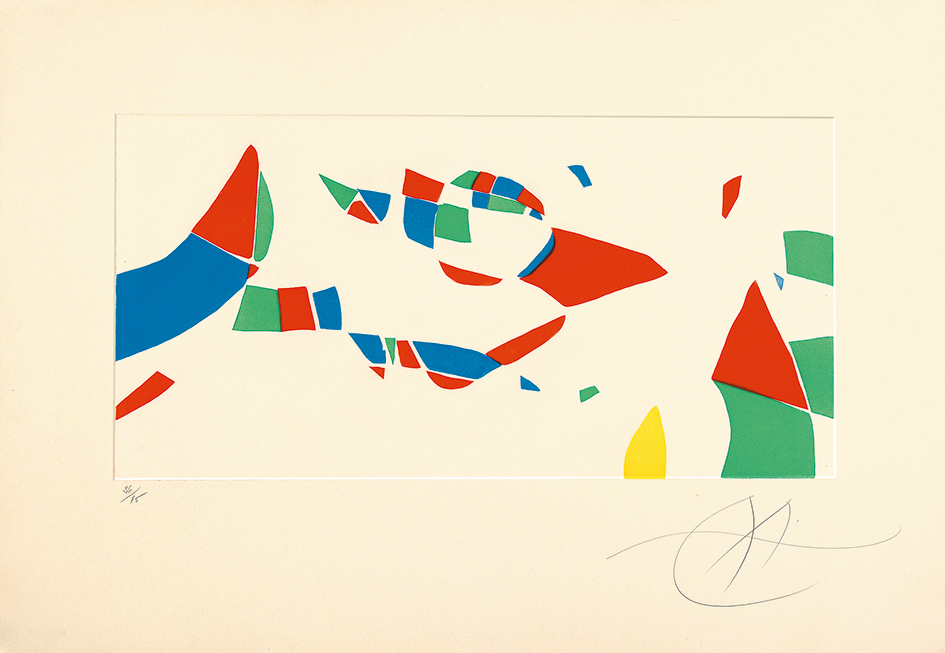 "Miró Joan, Sheet from ""Gravures pour une exposition"""