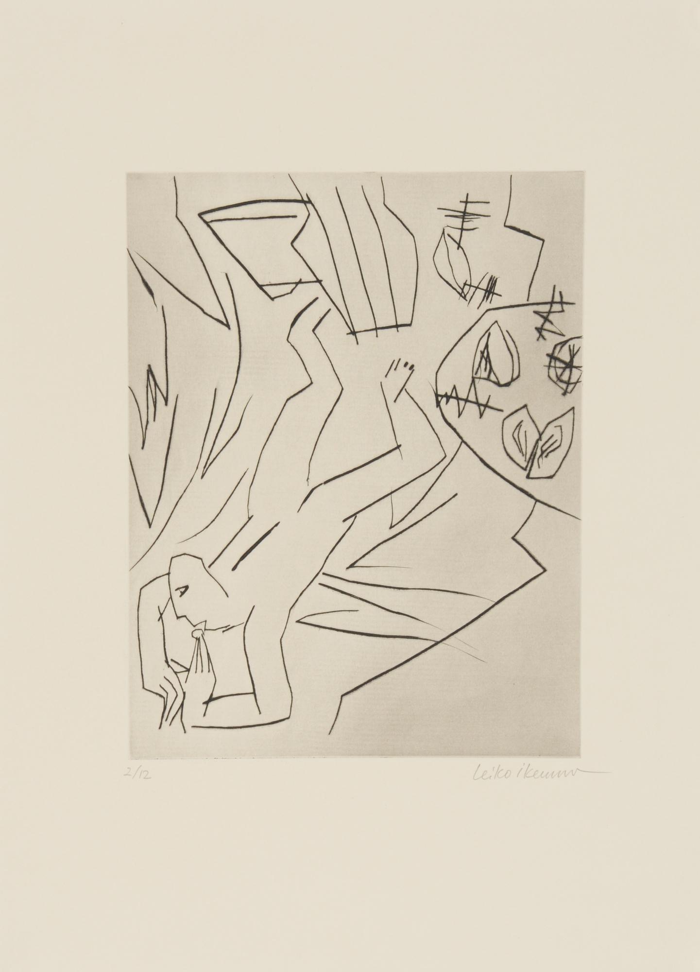 Grafik, 9 sheets: H. Schärer; L. Ikemura (2); P. Emch (2); F. Eggenschwiler (2); Anonymous (2)