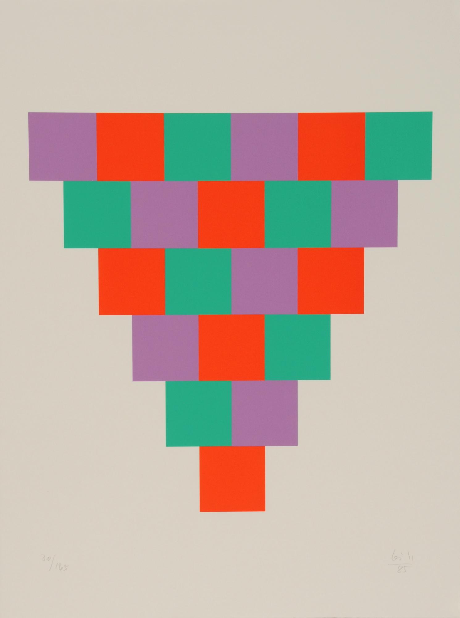 Bill Max, 1 bis 6 in drei farben