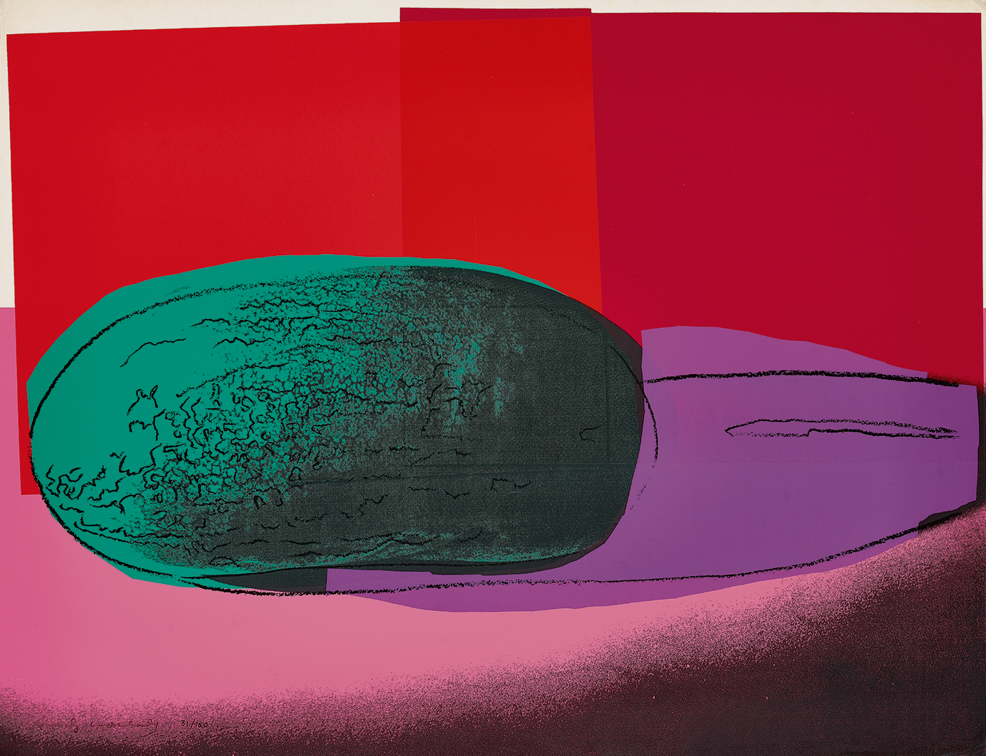 """Warhol Andy, Watermelon, from """"Space Fruits: Still Lifes"""""""