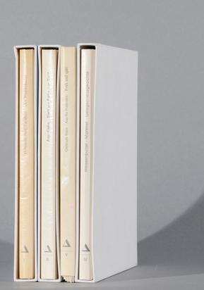 Konvolut, 4 books: Marcelle Cahn/Hans Arp, Blatt um Feder um Blatt