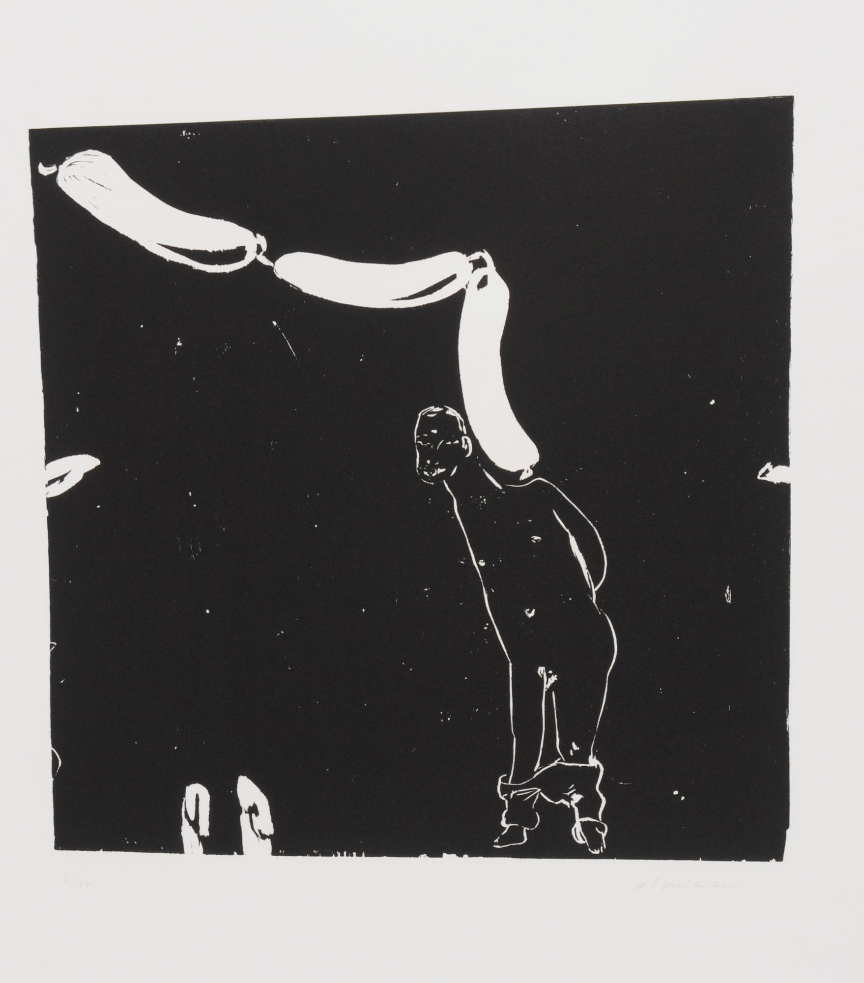 "Hanimann Alex, 2 folders: Imaginations ""le diable se repose"""