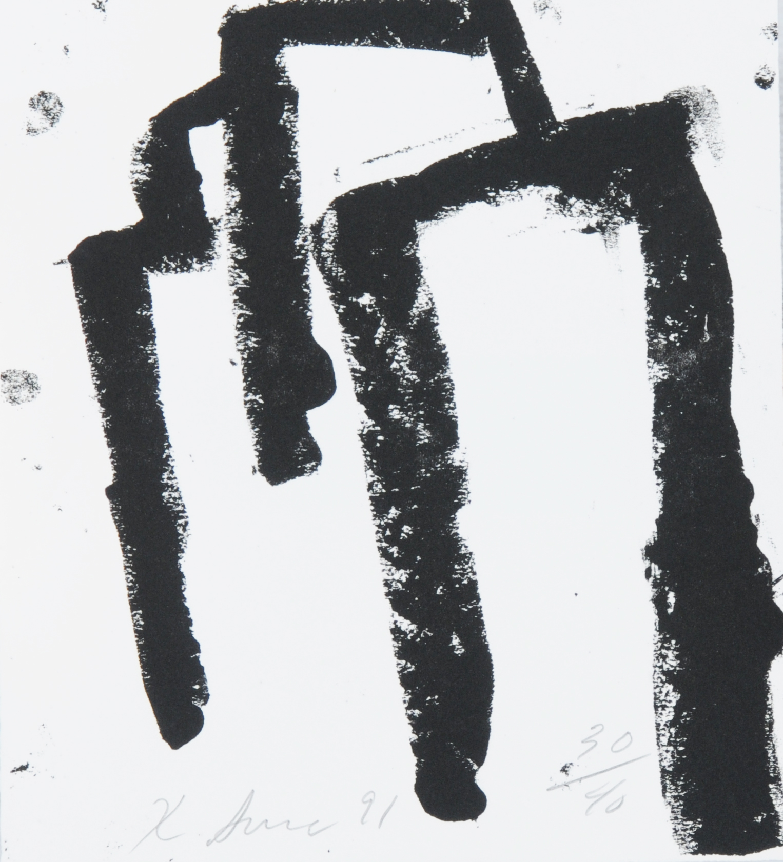 Serra Richard, Book. Afangar