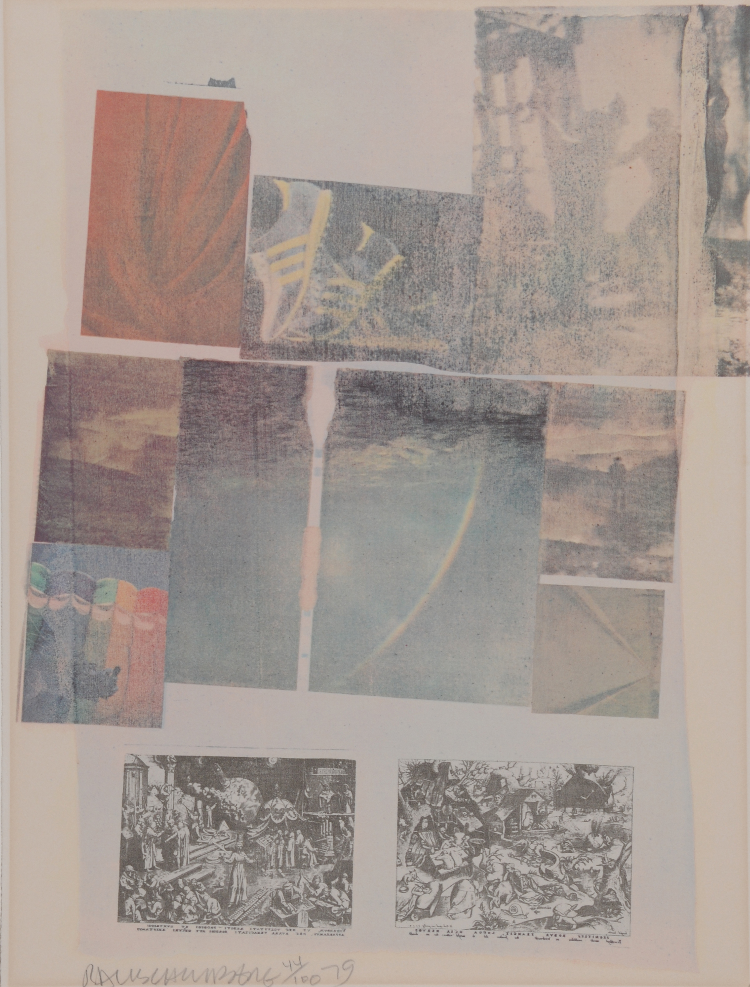 Rauschenberg Robert, People Have Enough Trouble Without Being Intimidated by an Artichoke