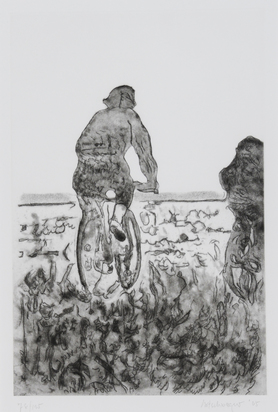 Artschwager Richard, Fahrradfahrer (Cyclist)