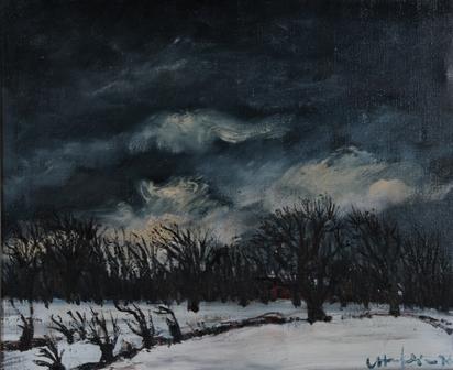 Haefliger Leopold, Winter Landscape