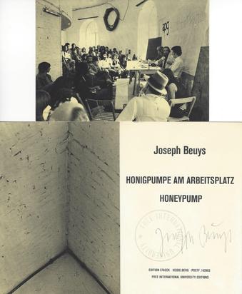 Beuys Joseph, Honigpumpe am Arbeitsplatz