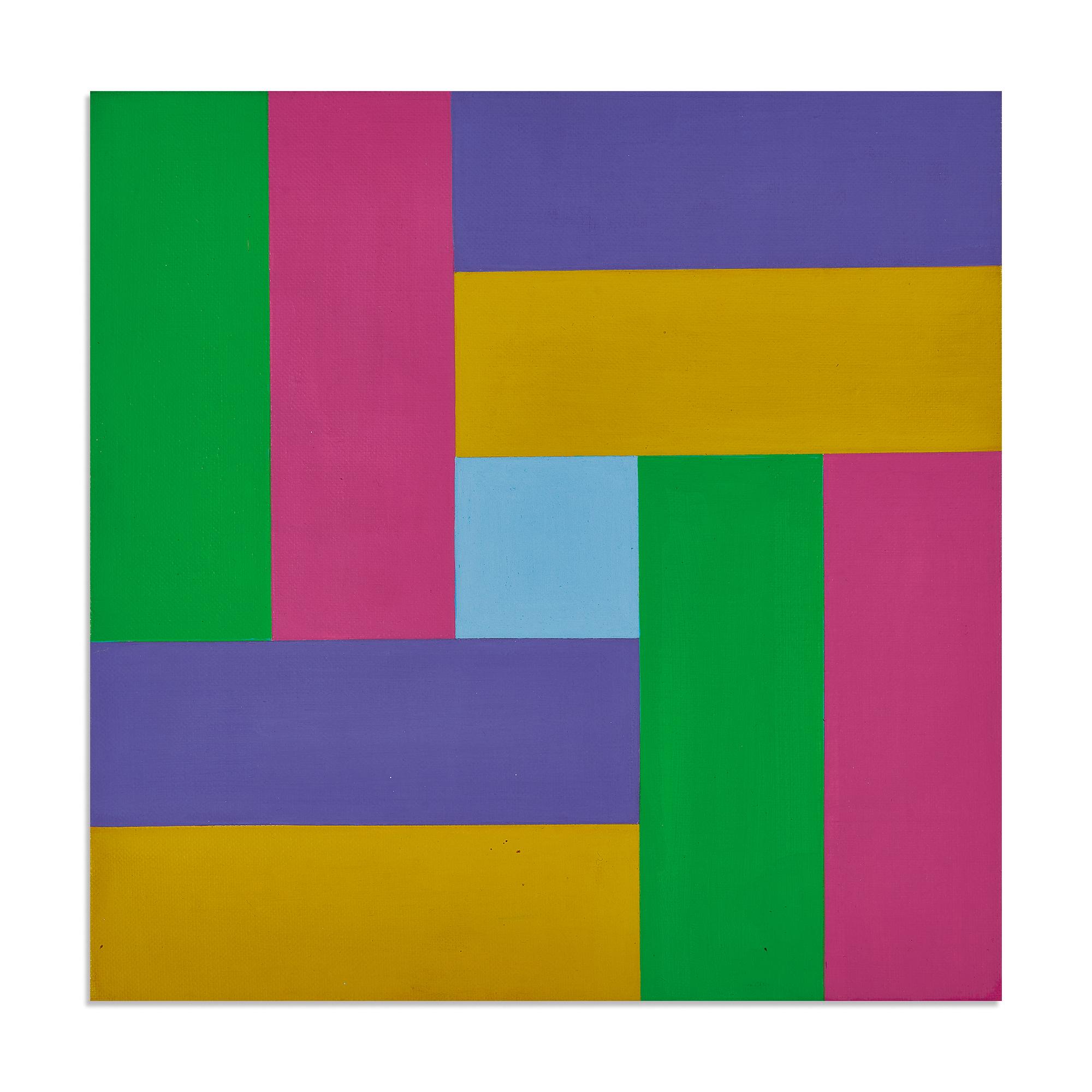 Lohse Richard Paul, Farbgruppen um ein hellblaues Zentrum