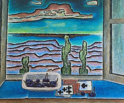 """Still Life """"At the Open Window"""", approx. 1955"""