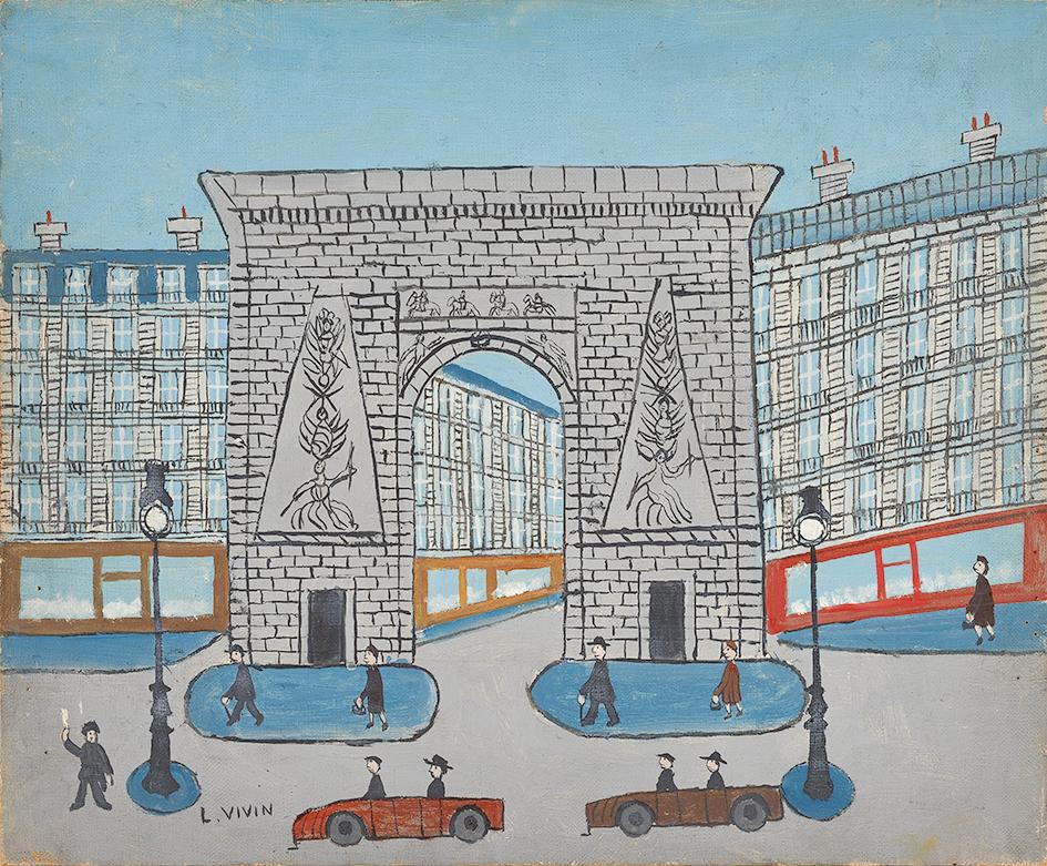Vivin Louis, Porte Saint-Denis