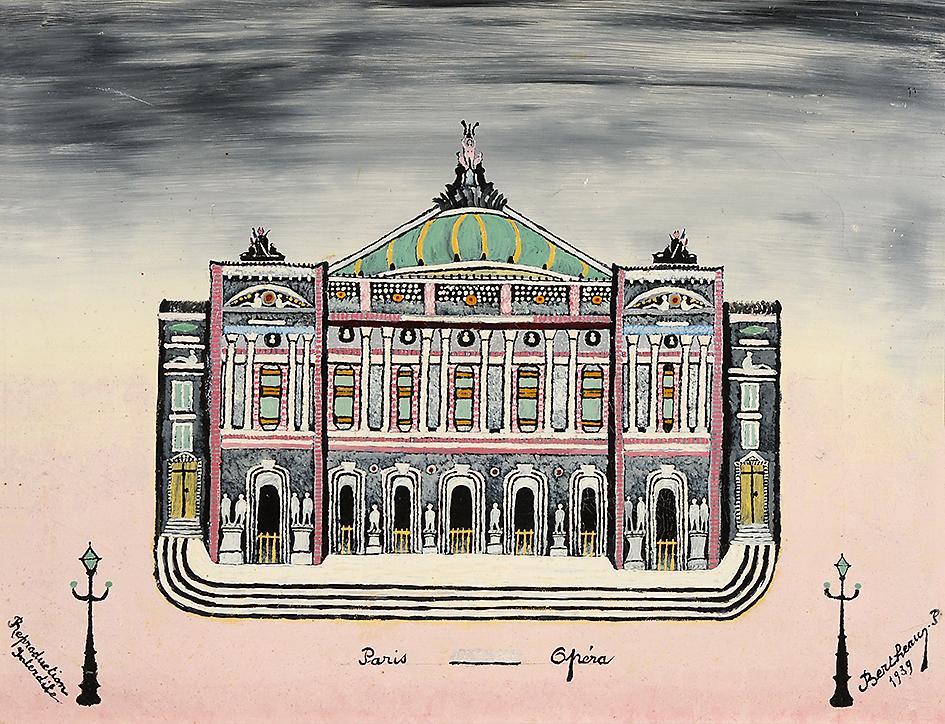 Bertheau Paul, Paris - Opera