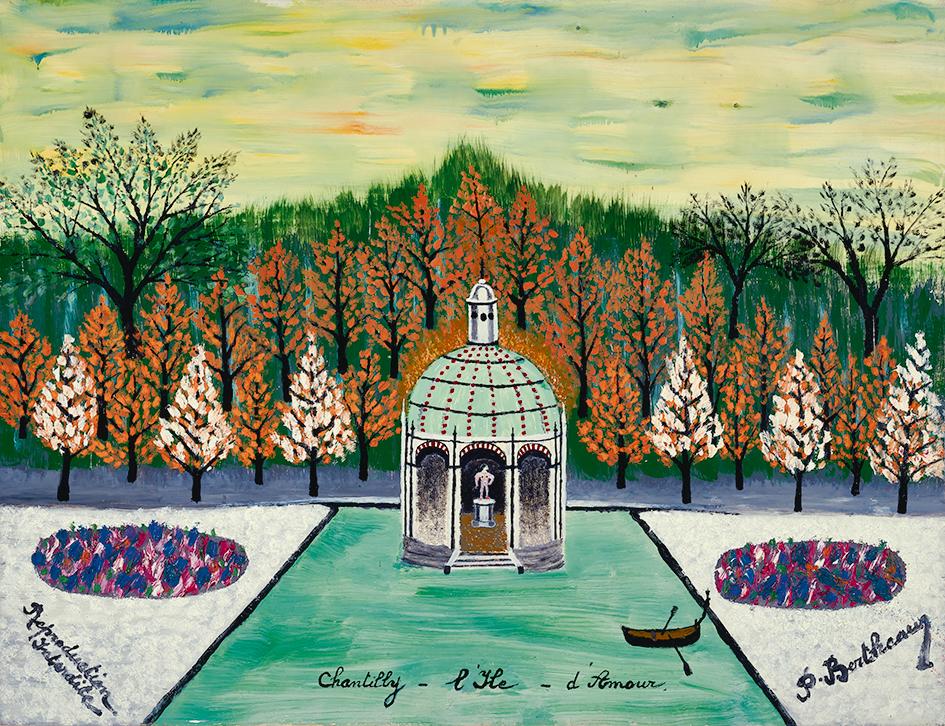 Bertheau Paul, Chantilly - l'île d'amour